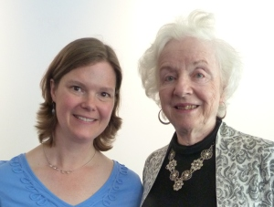 Ruth Hardy and Madeleine Kunin